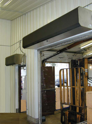 Air Curtains Pioneer Industrial Doors