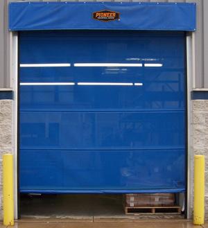 11 oz. vinyl coated mesh polyester screen ... & NoPest Doors | Pioneer Industrial Doors